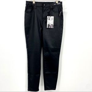 Kendall + Kylie the Kontour hi rise skinny coated